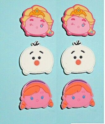 Shoe Charms Shoe Buttons Plugs Girls Decoration Cake Frozen Toppers  auction