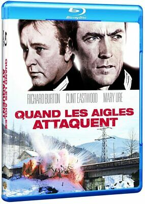 Quand Les Aigles Attaquent Eastwood   Blu Ray  Neuf Sous Cellophane