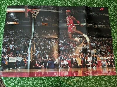 Michael Jordan 1988 NBA Slam Dunk Contest Poster The Last Dance Air Jordan