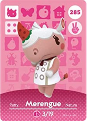 Animal Crossing: New Horizons Amiibo Merengue 285 (Series 3) NFC Tag