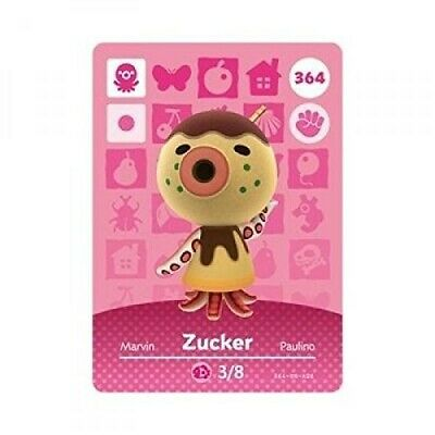 Animal Crossing: New Horizons Amiibo Zucker 364 (Series 4) NFC Tag