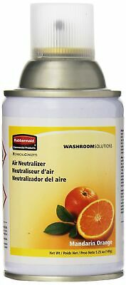 Rubbermaid Commercial Microburst Standard Aerosol Refill, Mandarin Orange, FG...