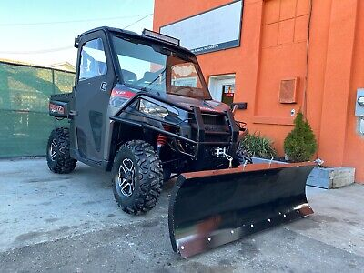 Enclosed HEATED POLARIS RANGER XP900, EPS, Brand new Tires, Winch, Plow, Radio