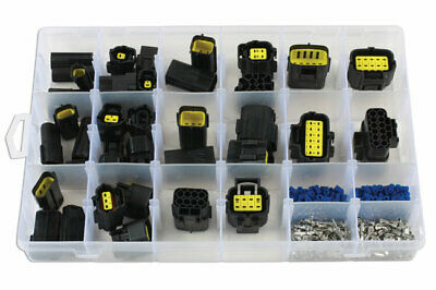 Connect 37417 Assorted AMP Econoseal J Series Connectors - 338 Pieces