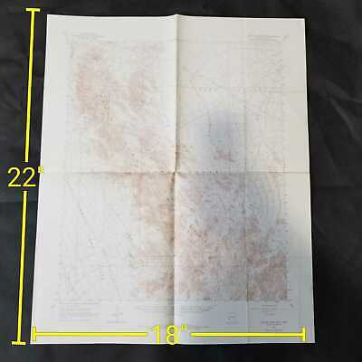 Vintage 1965 USGS Castle Dome Mountains Arizona Topographic Map