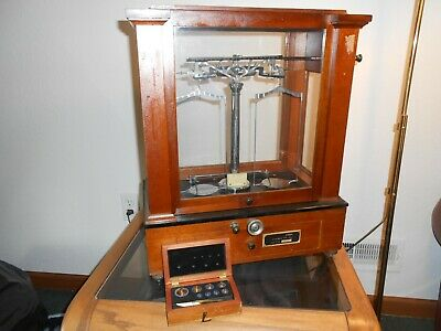 Voland & Sons Balance Beam Scale - Antique Analytical Scale