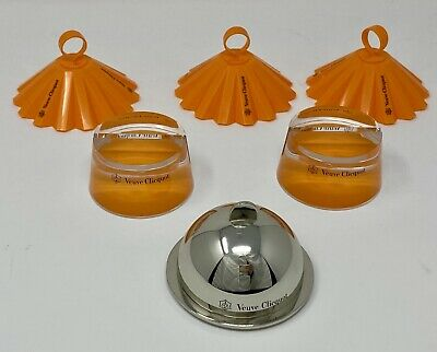 Authentic Veuve Clicquot Trendy Series Table Accessories - Spice Up the Decor!
