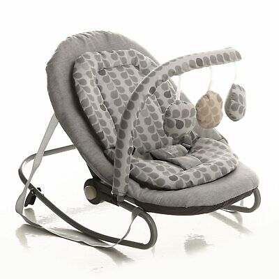Babybadoo baby plus Lounge Baby Bouncer Chair with Toys