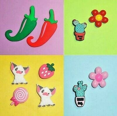 Cactus Chili Peppers  Shoe Charms Shoe Buttons Accessories Shoe Decorations