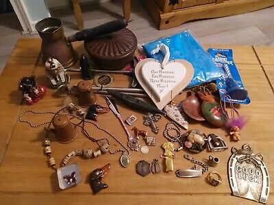Bundle Of Interesting Items - brass and other odds and sods