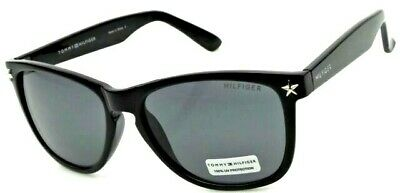 NEW women's TOMMY HILFIGER TH AILEEN Black retro sunglasses