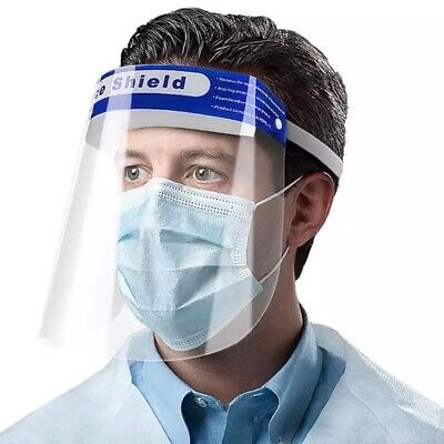 Safety Protective Splash Proof Full Head-Mount Face Eye Shield Fisherman Shield