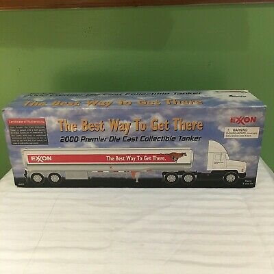 Rare Exxon The Best Way To Get There 2000 Premier Die Cast Collectible Tanker