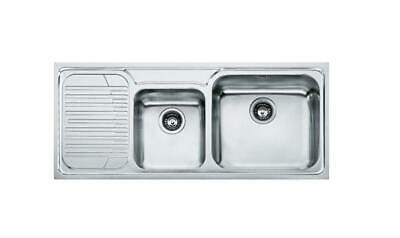 Franke Upstand GAX621 101.0017.506 Sink Basin 2 Tubs Stainless