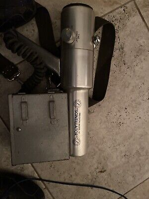 scintillator Model 111 with booklet and aluminum carrying case