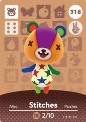 Animal Crossing: New Horizons Amiibo Stitches  #318 (Series 4) NFC Tag