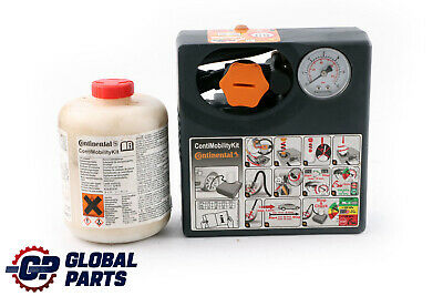 Genuine Continental Compressor Pump Inflator Tyre Sealant Conti Mobility Kit
