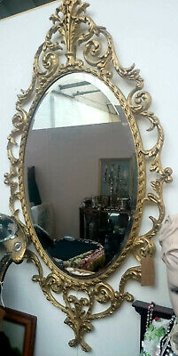 Large Rococo-style mirror