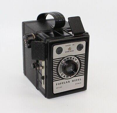 Conway Popular Model 120 Film Box Camera – Made in England - c. 1950's – VGC