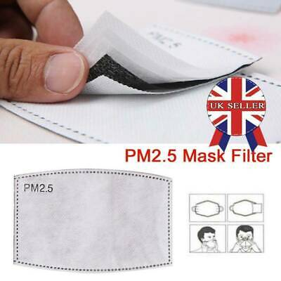 10pc PM2.5 Replacement 5 Layer Activated Carbon Filters