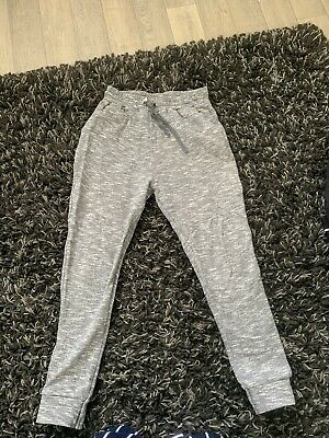 Girls Grey Track Bottoms Age 9 From Next