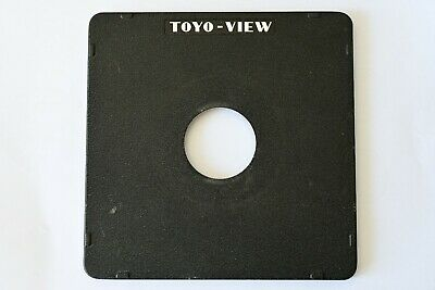 TOYO VIEW Lens Board. 158mm x 158mm 41mm Hole