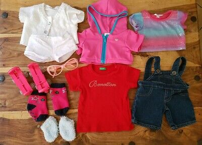 Build a Bear Clothes Bundle With Roller Skates and Sunglasses.
