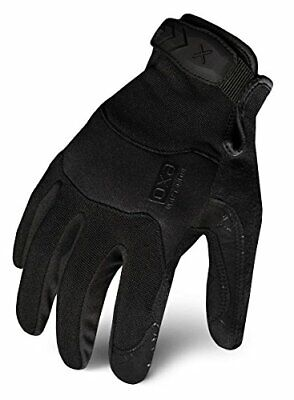 Ironclad EXOT-PBLK-03-M Tactical Operator Pro Glove, Stealth (Medium|Black)