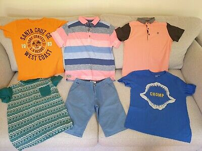 Boy's NEXT, Ted Baker, GAP, TU Summer Clothes Bundle Size 9 - 10 Years