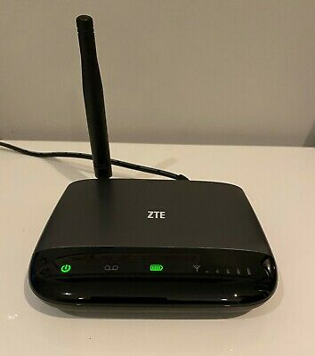 Consumer Cellular ZTE WF721 Wireless Home Phone Base w/AC Power Adapter