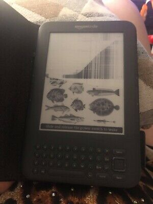 kindle paperwhite Model D00901 Damaged Screen