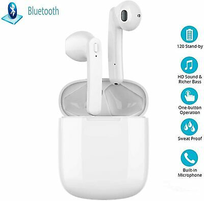Wireless Bluetooth iPhone Ear Pods - Earbuds Earphones Headphones For iPhone