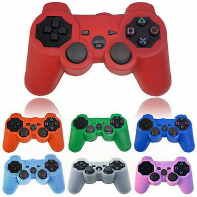 For Playstation 3 PS3 Controller Gamepad Silicone Protective Skin Cover Case