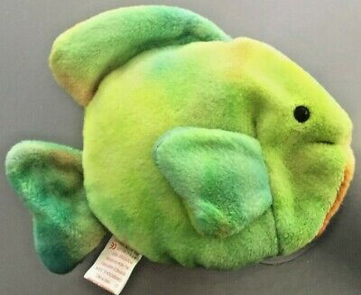 Coral The Fish #4079 Ty Beanie Baby Mwmts