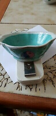 Vintage Chinese Tea Bowl  Hand Painted Vgc See Photos Nice Collectors Item