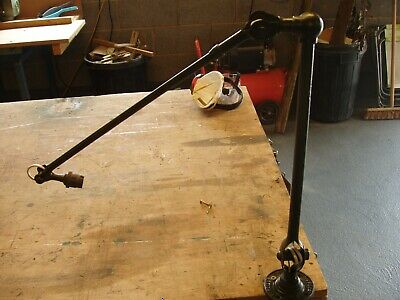 Vintage Dugoills Industrial Angle Poise Lamp