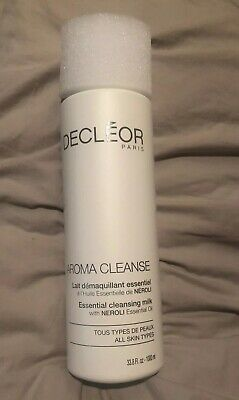 Decleor Aroma Cleanse ESSENTIAL CLEANSING MILK Cleanser 1000ML PROF SALON SIZE
