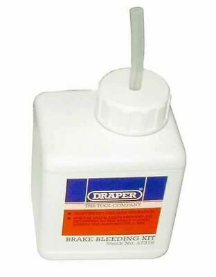 Draper Tools 37316 Brake Bleeding Kit with 600mm silicon tube and one-way valve