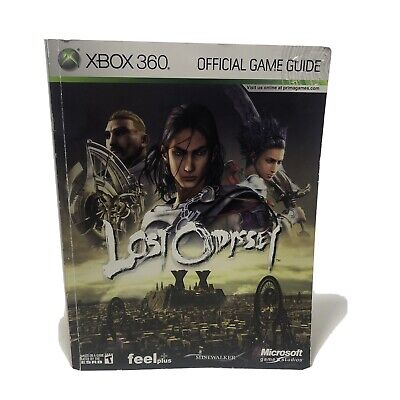 Lost Odyssey : Prima Official Game Guide XBOX 360 Paperback Good Condition