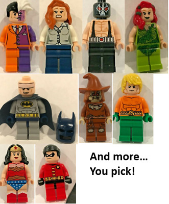 Lego Minifigures Super Hero YOU CHOOSE