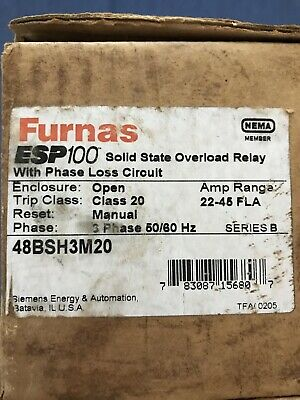 Nib Furnas 48Bsh3M20 Solid State Overload Relay