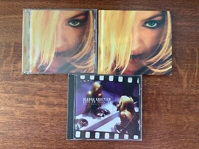 Madonna,GHV2 2 editions & BlondeAmbition-dance mix, 3cds, all exc. cond!  Cool!