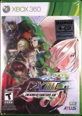 The King of Fighters XIII with Exclusive 4 CD Soundtrack Collection 94-XIII -...