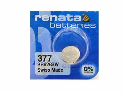 Genuine Renata Lithium Batteries Silver Oxide Watch Battery Cell Coin Swiss Made