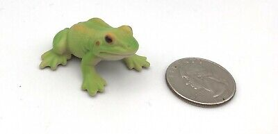 Schleich GREEN FROG Animal Amphibian Figure 2002 Retired 14407