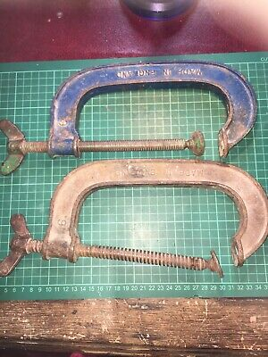 Job Lot Of Record G Clamps No 6