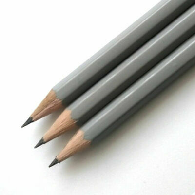 10 Grey HB Pencils *Personalised* with 1 name or message in capitals letters
