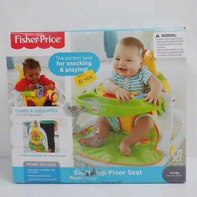 Fisher-Price Giraffe Sit-Me-Up Floor Seat, Portable Baby Chair *XD*
