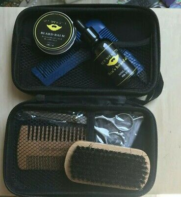 Kit de toilettage de barbe rasage pour homme Care