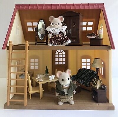 Sylvanian Families Cosy Cottage Maces Mice Grandparents Furniture & Accessories